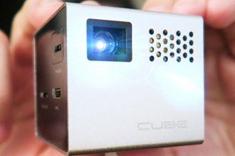 Spendr featured RIF6 Cube mini projector
