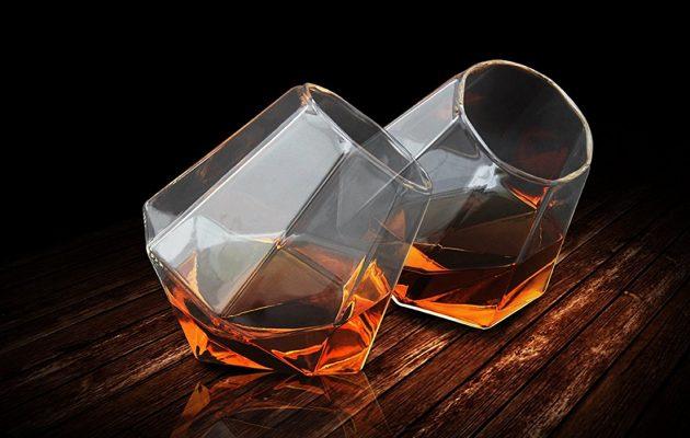 Spendr.nl featured thumbs up diamond whiskey glazen
