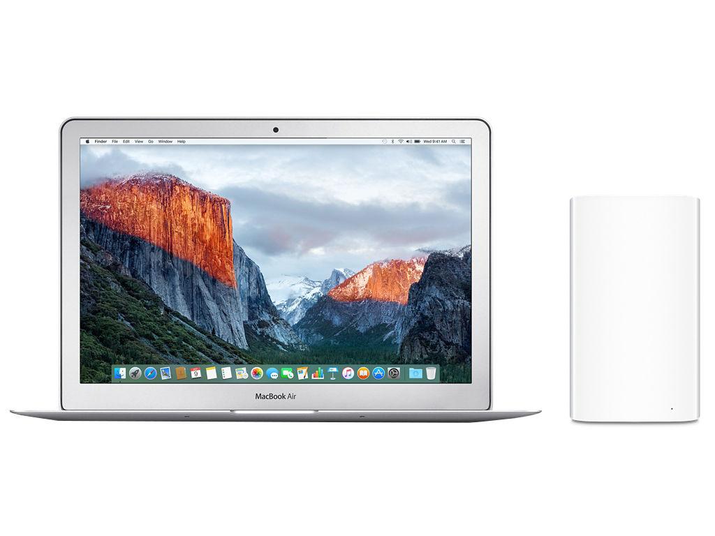 Apple Airport Extreme draadloze router - macbook vergelijking