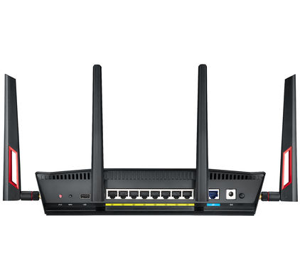 Asus RT-AC88U draadloze wifi router achterkant