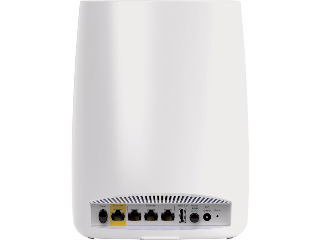 Netgear Orbi router achterkant