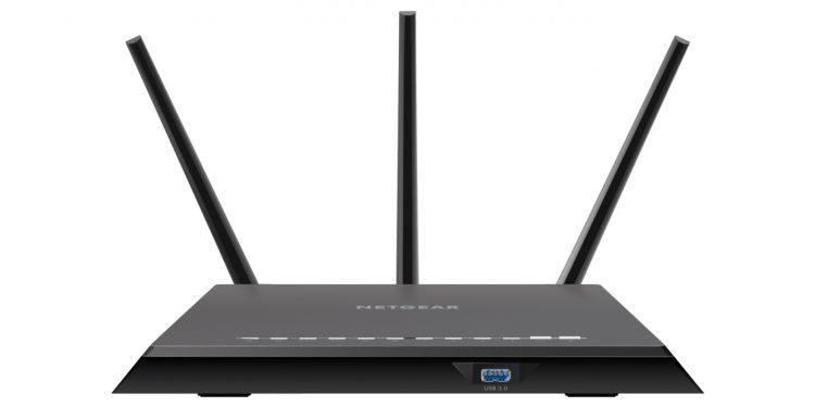 De beste rraadloze wifi router 2017 - Netgear Nighthawk AC1900 R7000