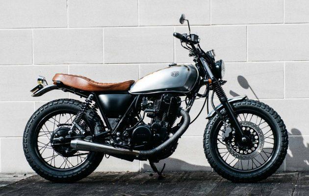 Dues Ex Machina Flaneur motorfiets