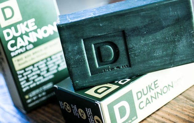 Spendr.nl featured - Duke Cannon supply co. Brick of soap