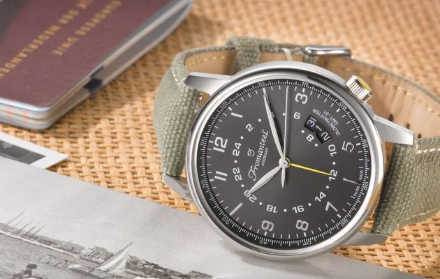 Spendr.nl - featured - Fromanteel globetrotter horloge